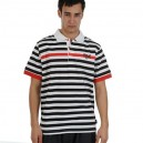 Triko Everlast - Polo Shirt White/Black